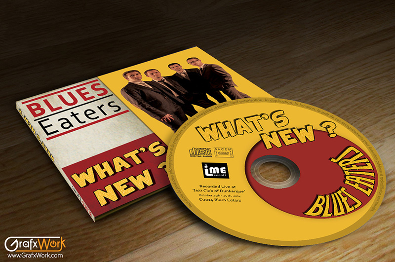 Album CD What's New des Blues-Eaters